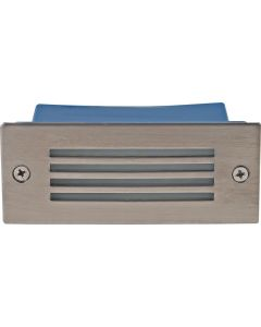 BRIGHT STAR FT009 STAINLESS STEEL RECTANGULAR FOOTLIGHT