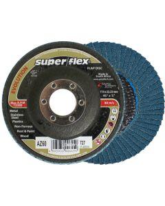 SUPERFLEX FLAP DISC 115X22MM P60