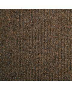 CARPET TILE MULTI-CORD SELF ADHESIVE BROWN 500X500MM 2SQM/PER BOX