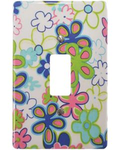 EUROLUX CT6541/260 COVER PLATE 1L 2X4 FLOWERS