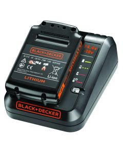 BLACK & DECKER BDC1A15 1A FAST CHARGER + 18V 1.5AH LITHIUM-ION BATTERY
