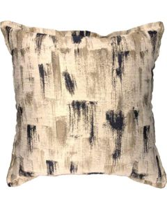 GREY GARDENS NAVY PAINT SCATTER CUSHION