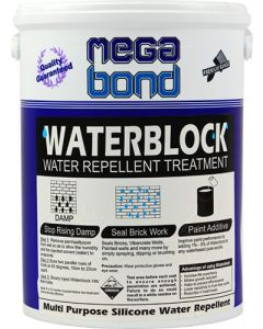 MEGABOND WATERBLOCK CLEAR 5L