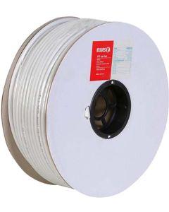 ELLIES ACRG6UW WHITE COAX TV CABLE RG6U 100M