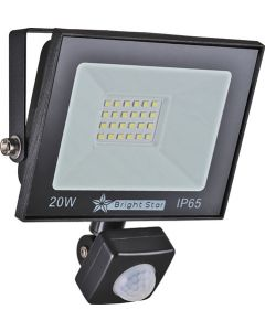 BRIGHT STAR FL075 LED 20W FLOODLIGHT WITH SENSOR