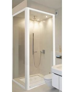 SHOWER RETURN PANEL 900 CLEAR/NATURAL