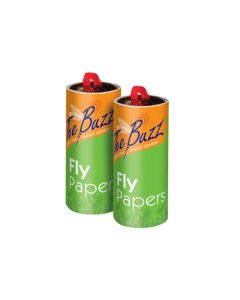 THE BAZZ STV015 PAPER FLY TRAP 4 PACK