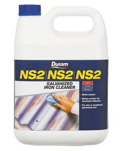 DURAM NS2 GALVANIZED IRON CLEANER 5L