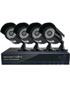 SECURITYMATE SMAHD4 HD CCTV SECURITY SYSTEM