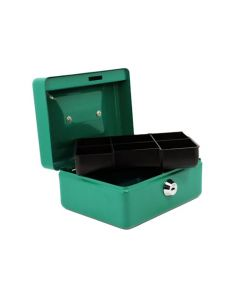 BBL BBS11 GREEN CASH BOX 152X118X80MM