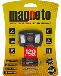 MAGNETO DBK226 NIGHT EXPLORER LED HEADLAMP