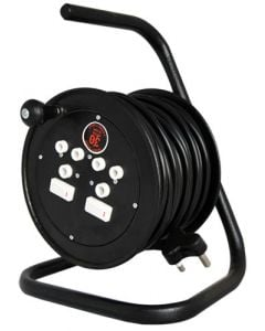 ELECTROLINE REEL013 STEEL CABLE REEL 30M 10AMP