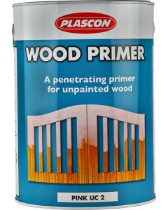 PLASCON WOOD PRIMER PINK 5L