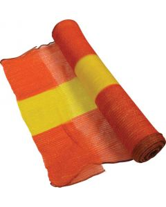 BARRIER NETTING WOVEN YELLOW AND ORANGE 1MX100M