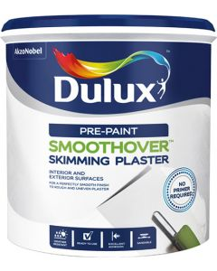 DULUX PRE-PAINT SMOOTHOVER SKIMMING PLASTER 4KG