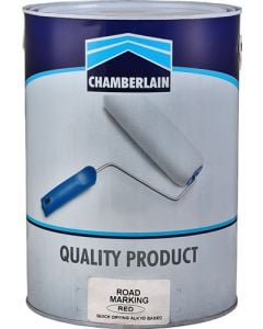 CHAMBERLAIN RED ROAD MARKING PAINT 5L