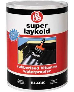 ABE SUPER LAYKOLD BITUMEN WATERPROOFING 5L