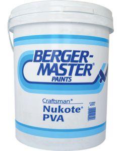 DULUX BERGERMASTER CRAFTSMAN NUKOTE PVA 20L