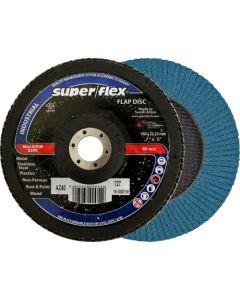 SUPERFLEX FLAP DISC 180X22MM P40