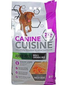 CANINE CUISINE ADULT 20+KG CHICKEN & RICE DOG FOOD 6KG