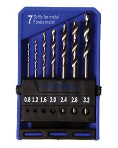 DREMEL PRECISION 7-PIECE DRILL BIT SET