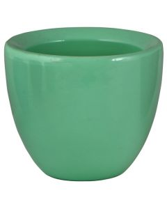 CERAMIC MOSA MINT GREEN POT 12CM