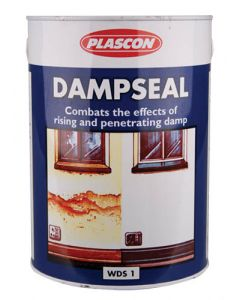 PLASCON DAMPSEAL WATERPROOFING SEALER WHITE 5L