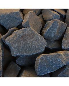 Black Dump Pebbles - 20kg Bag