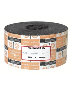 MALTHOID DAMPCOURSE 225MMX2PLY X20M ROLL