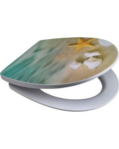 SUPERSEATS GTS95330 3D STARRY SHORE TOILET SEAT