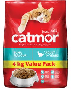 CATMOR ADULT 1+ YEARS TUNA FLAVOUR 4KG
