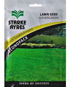 STARKE AYRES 4 EVERGREEN ECONOPACK LAWN SEED