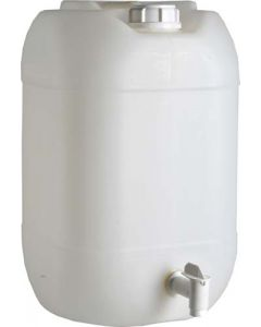 25L PLASTIC WATER CAN WITH TAP
