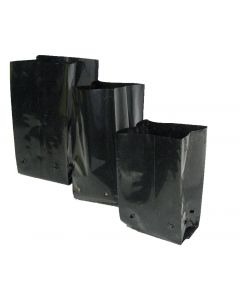 BALLSTRAATHOF P038 BLACK PLANT BAG 15L