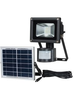 BRIGHTSTAR FL076 BLACK SOLAR LED FLOODLIGHT