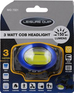 LEISURE QUIP MQ7321 3 WATT COB HEADLIGHT