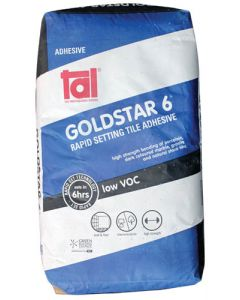 TILE ADHESIVE GOLD STAR 6-HOUR CEMENT BASED 20KG
