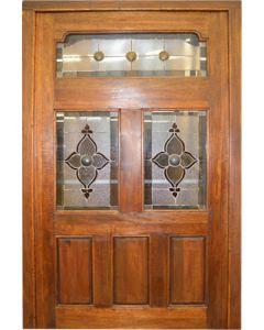 WINTER LEADED PIVOT GLASS 1350X2100  DOOR