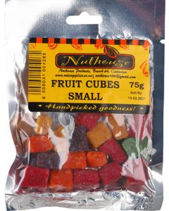 NUTHOUSE FRUIT CUBES SMALL 75G