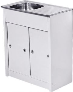 Cam Africa KD7540/1 Kitchen Unit and Sink 750 x 400mm