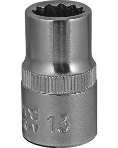 Gedore Red  GEDR61101306 Bi-hex Socket 13/38mm