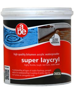 ABE SUPER LACRYL CHARCOAL 1L