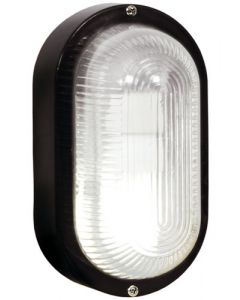 BRIGHT STAR BH027 BLACK PVC BULKHEAD FITTING
