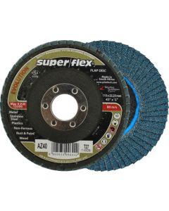 SUPERFLEX FLAP DISC 115X22MM P40 DIY