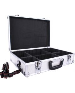 TORKCRAFT ALC002 ALUMINIUM CASE 42.5X28.5X12MM WITH 5 DIVIDERS