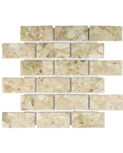 FALCON P3-FT9506 MOSAIC TILE NATURAL BISCUIT MIX 45MM