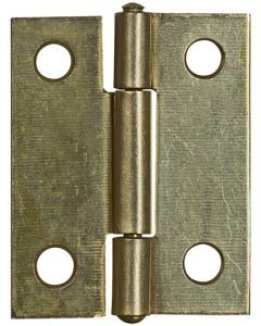 Décor City HI-510/40 Brass Plated Butter Hinge 40mm Each