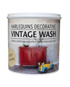 HARLEQUIN'S DECORATIVE VINTAGE WASH DIRTY CANVAS 1L