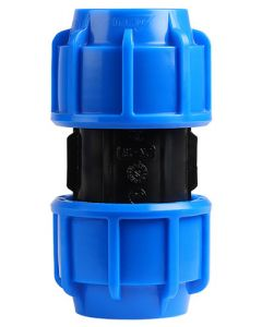 MARLEY #510.400 HDPE COMPRESSION STRAIGHT COUPLING 40MM