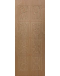 PATTERNED HOLLOW CORE MELODY ENTRANCE DOOR 813x2032